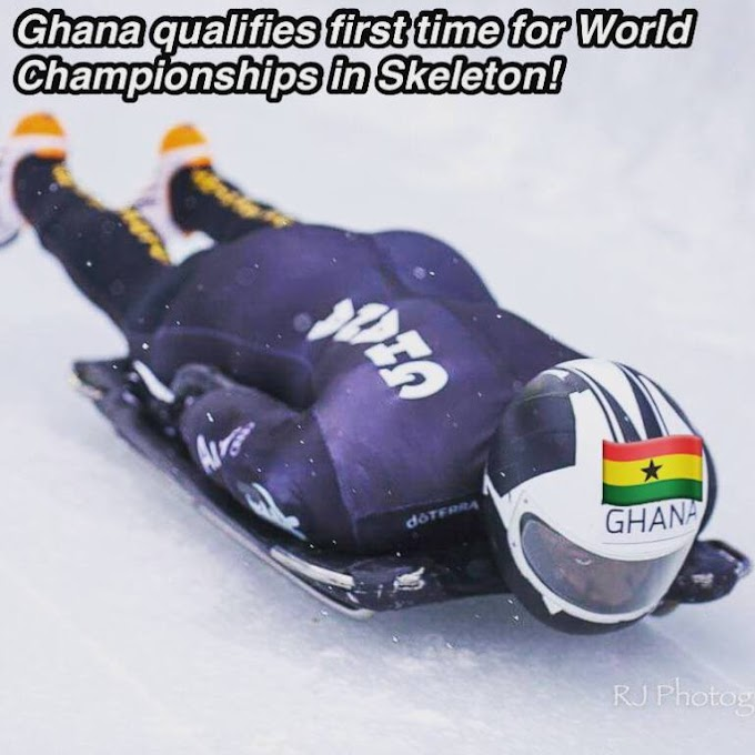 Akwasi Frimpong becomes first Ghanaian to qualify for World Championships in skeleton