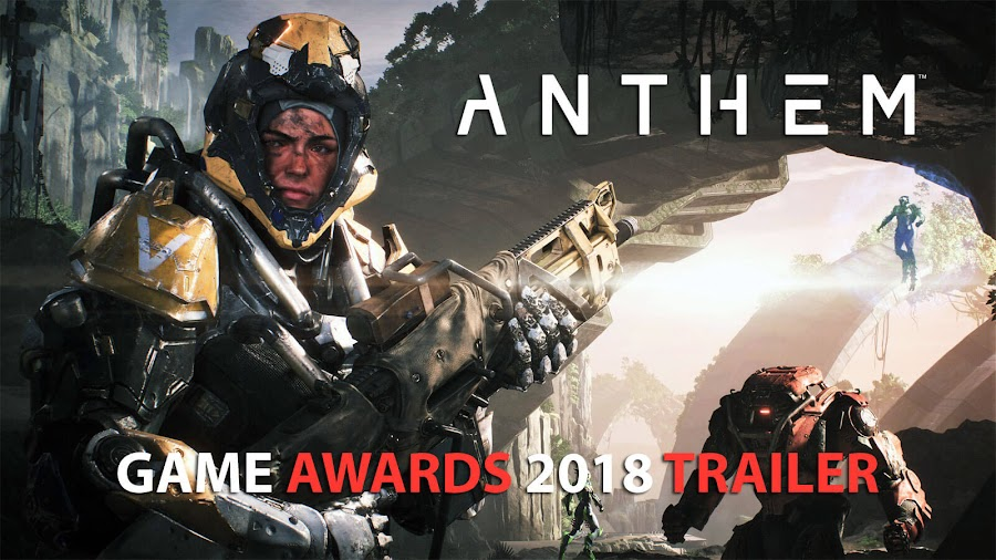 anthem game awards 2018 bioware