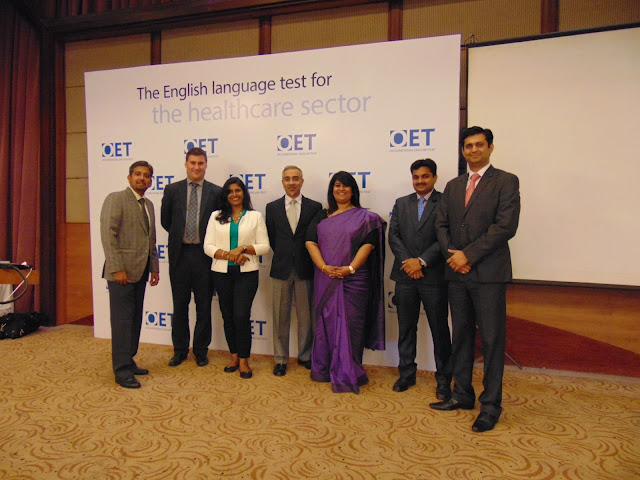 Picture 02 - Officials at the launch of new OET test centre in Kerala