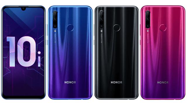 Spesifikasi Lengkap Honor 10i
