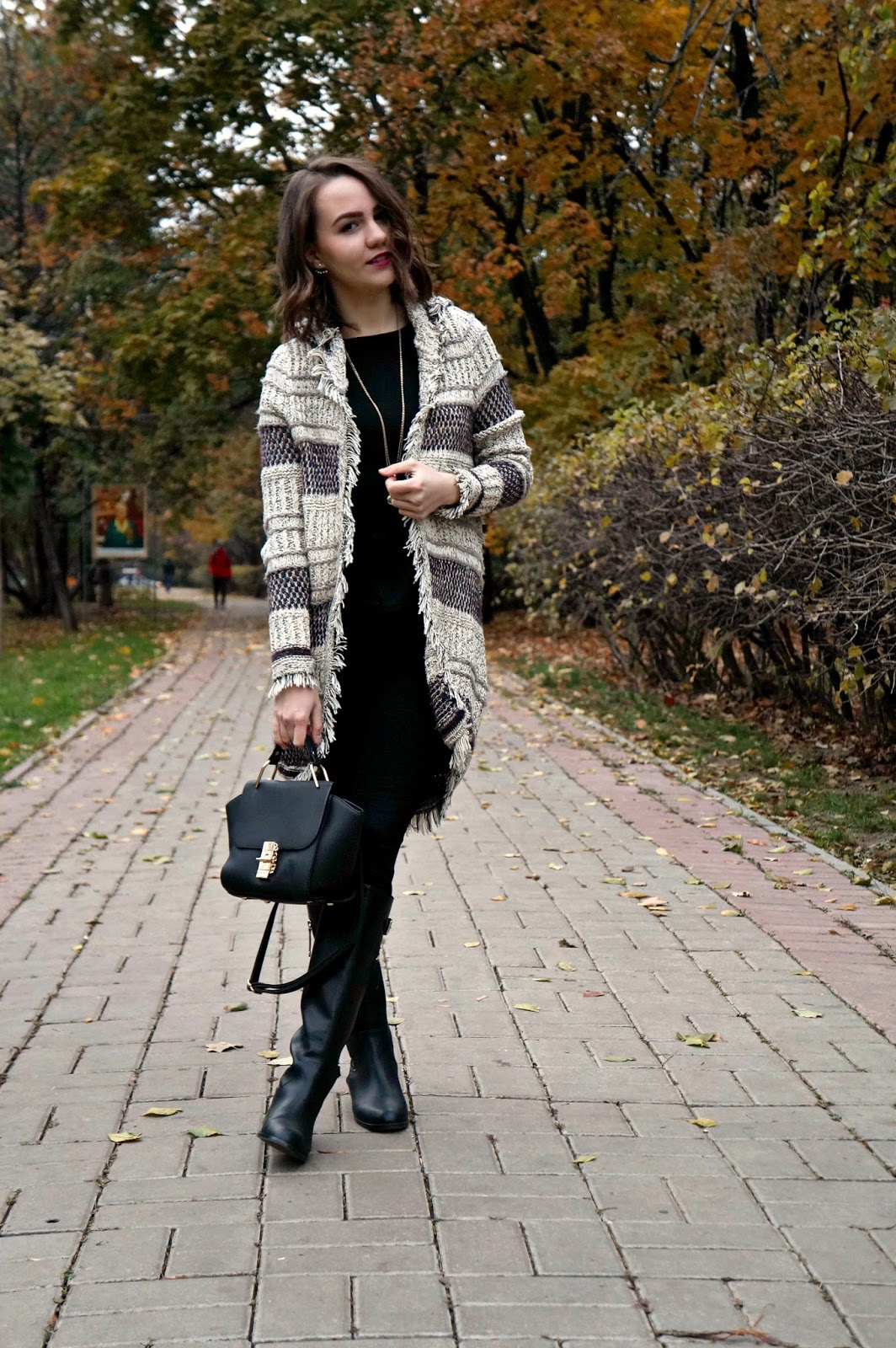 Cozy cardigan outfit | Fashion Blogger