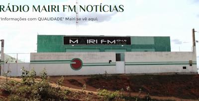 Projeto de veiculação de propagandas do município na Rádio Mairi FM, apresentado por Roque da Luz
