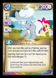 My Little Pony Silver Spoon, High and Mighty Marks in Time CCG Card