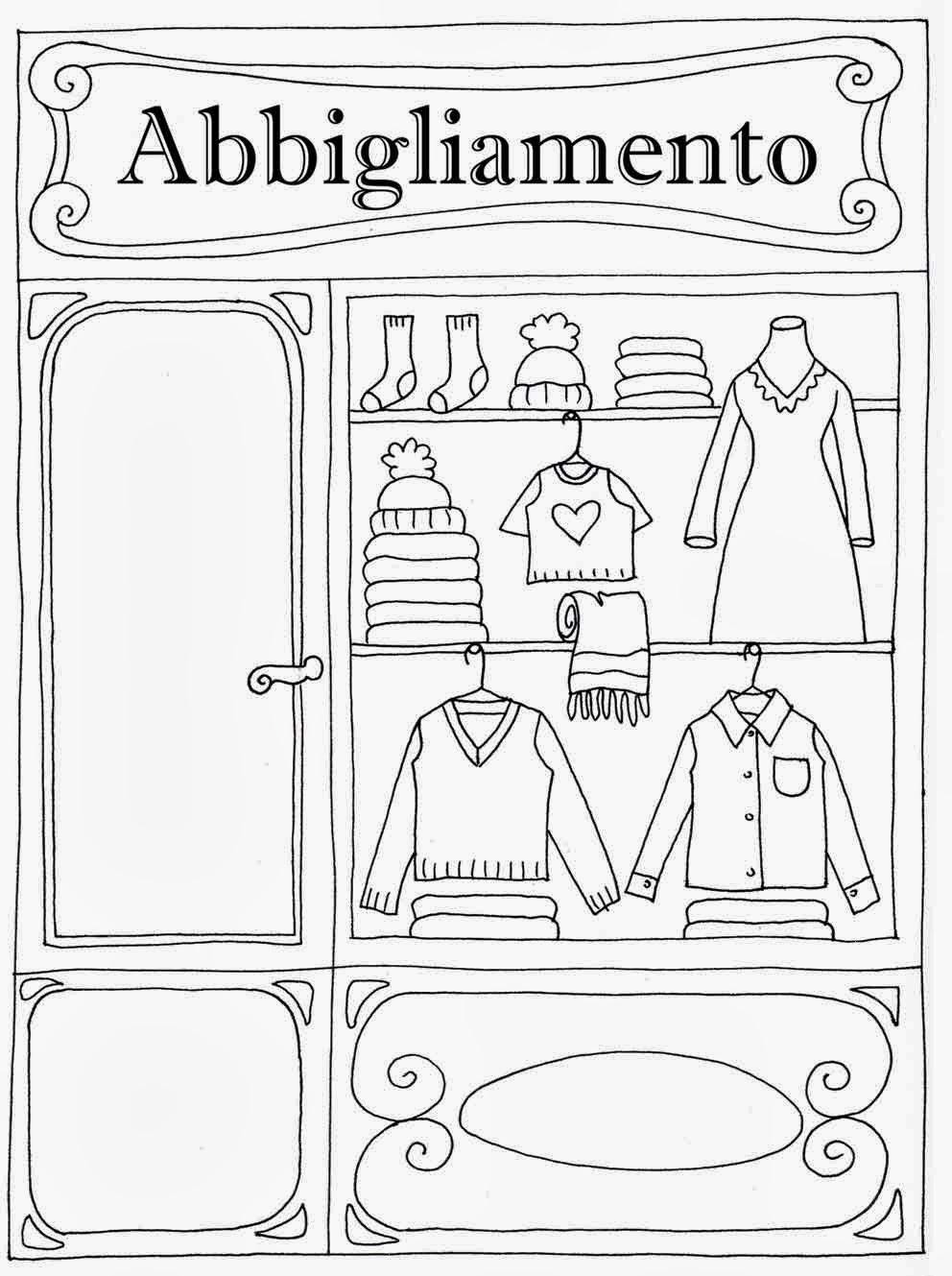 ac82c8a74dbd Disegni Di Vestiti Da Colorare