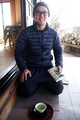 Young Japanese priest, Fukuoka, Kyushu, Japan