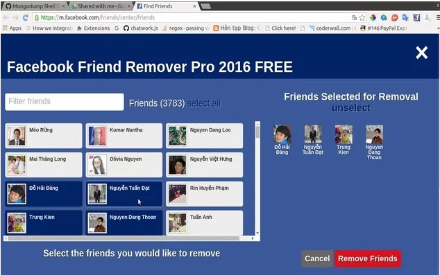 Ad On Friend Remover Pro