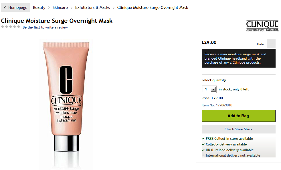 http://www.houseoffraser.co.uk/Clinique+Moisture+Surge+Overnight+Mask/177869010,default,pd.html