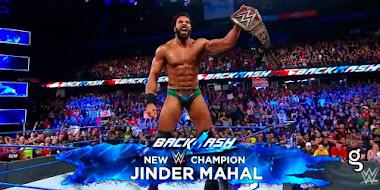WWE tiene un nuevo campeón ¡Jinder Mahal derrotó a 'La Víbora'!