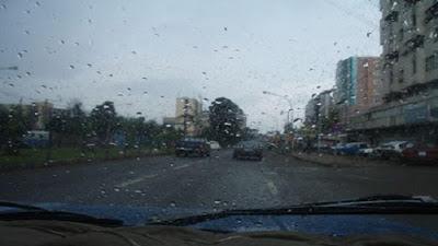 أمطار غزيرة, الأسكندرية, حالة الطقس,