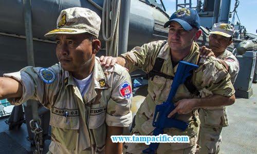 Campuchia đơn phương quyết định hủy tập trận thường niên với Mỹ