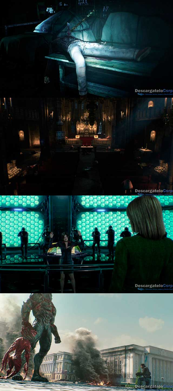 Resident Evil La maldición (2012) HD 1080p Latino Trial