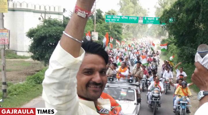भाजपा के राजीव तरारा 38 हजार से जीते