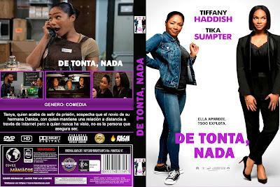 CARATULA 1NOBODY'S FOOL - DE TONTA, NADA - 2018 [COVER DVD]