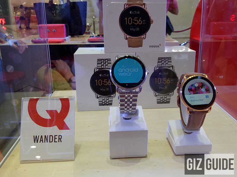 Fossil Q Android Wear And Hybrid Smartwatches Launched In PH!