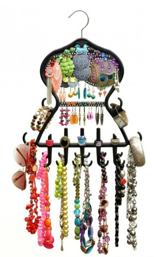 jewelry hanger for necklaces, earrings and more