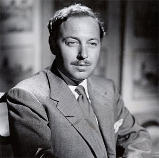 Image result for tennessee williams in 1955