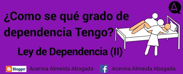 Hay tres grados de dependencia, contamos cómo se distinguen.