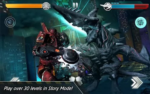 Pacific Rim for Android and iOS, fight Kaiju on your mobiles and tablets by using 5 different Jaegers