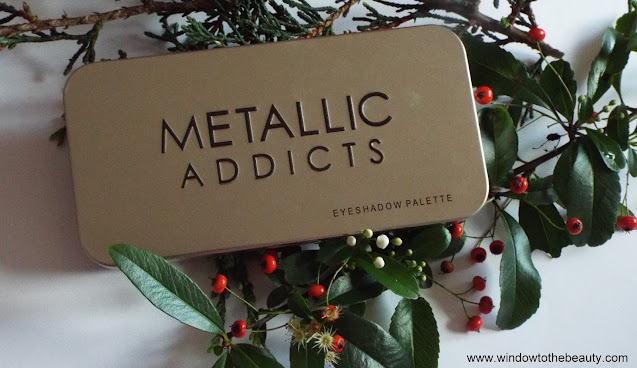 Saffron Metallic Addicts paleta