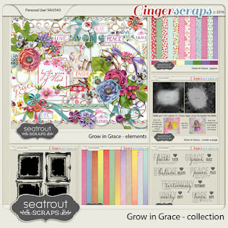 Grow in Grace Collection by Seatrout Scraps