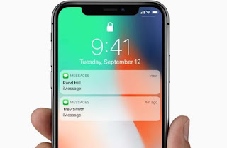 blocco schermo iphone
