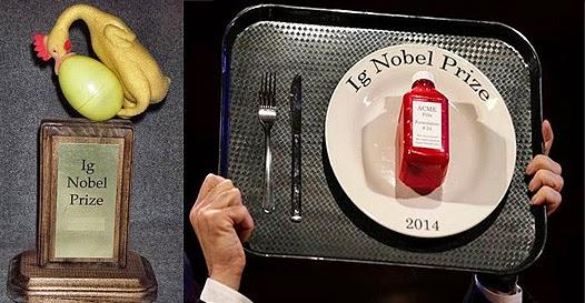 Ignobil - O prêmio nobel das pesquisas inusitadas