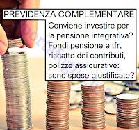 conviene investire nella previdenza complementare per la pensione integrativa