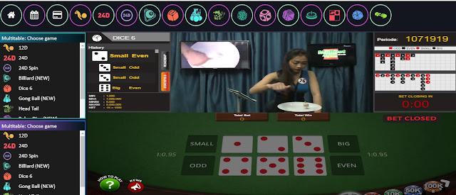 Cara Main Togel Live Game Dice 6 Di Situs Resmi AsTogel