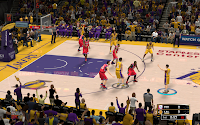 NBA 2K13 L.A. Lakers Court Patch