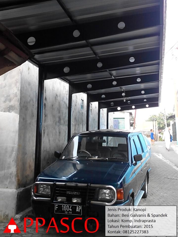 Kanopi Minimalis Untuk Parkiran Mobil