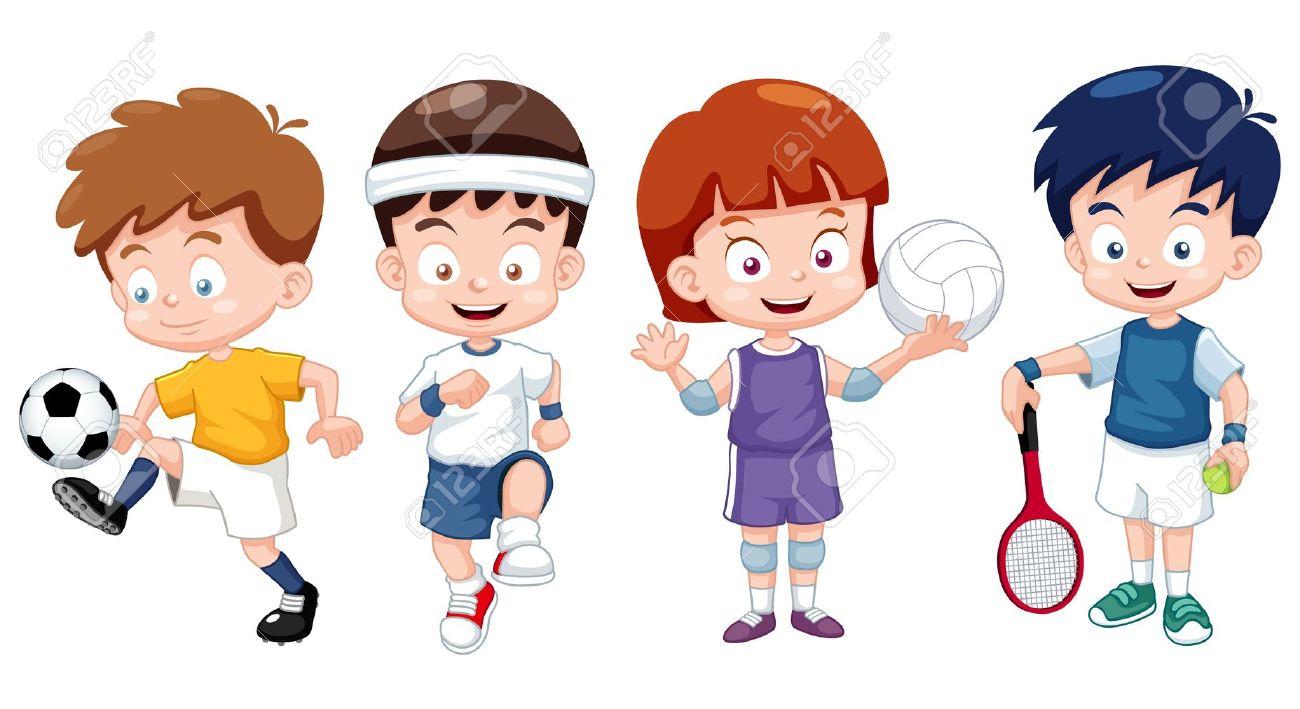 Gambar Kartun Anak Olahraga Top Gambar