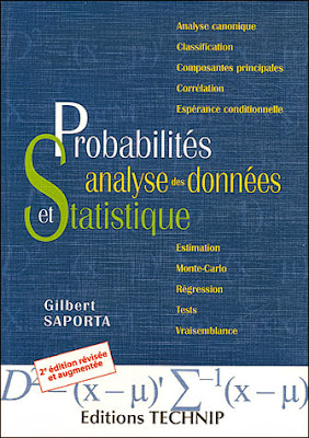 Livre : Probabilités, analyse des données et statistique -  SAPORTA Gilbert