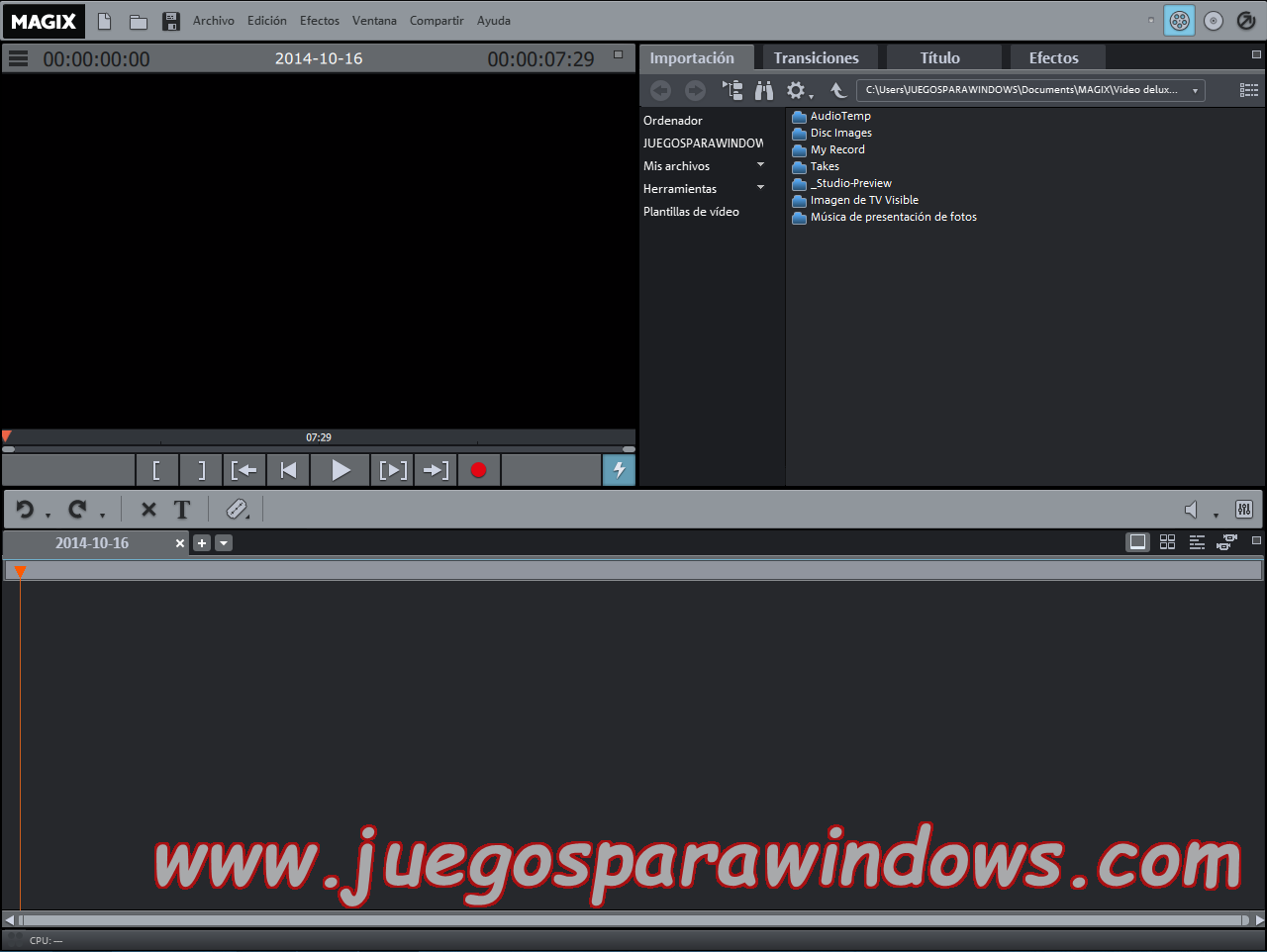 Magix Video Deluxe Premium 2015 ESPAÑOL Producciones De Video Sorprendentes (NEWiSO) 7