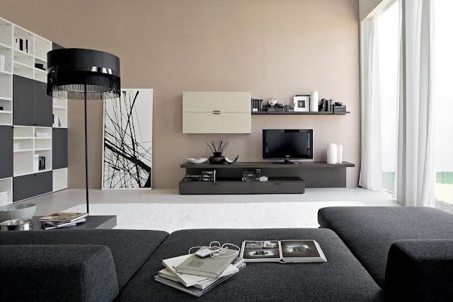 Modern Interior Design with Modern Lamp
