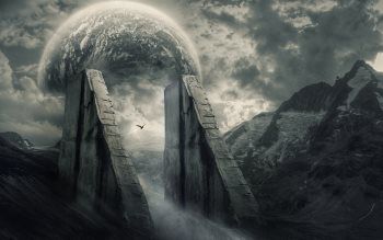 Wallpaper: Digital Art: Guardians & Coven
