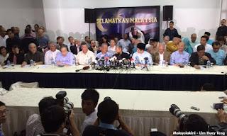 Senarai Pemimpin Yang Hadir Deklarasi Anti Najib