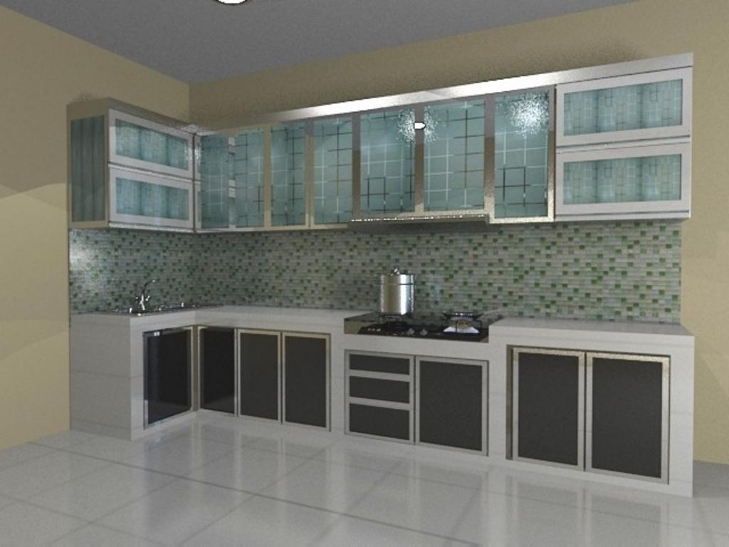 kitchen set dengan keramik 4
