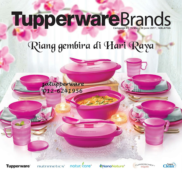 Tupperware Catalogue 15th May - 30th June 2017