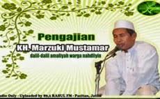 Download Pengajian KH. Marzuki Mustamar