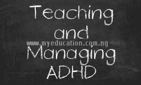 Teach A Child With ADHD