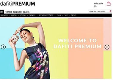 Desde 2014 a DAFITI tem trabalhado fortemente para se posicionar como  autoridade em moda. O site passou por mudanças de posicionamento e  identidade visual. 7e4400b4c69