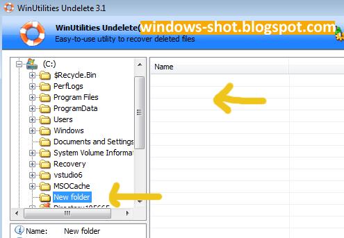 Cara Mengembalikan File Yang Terhapus Permanen