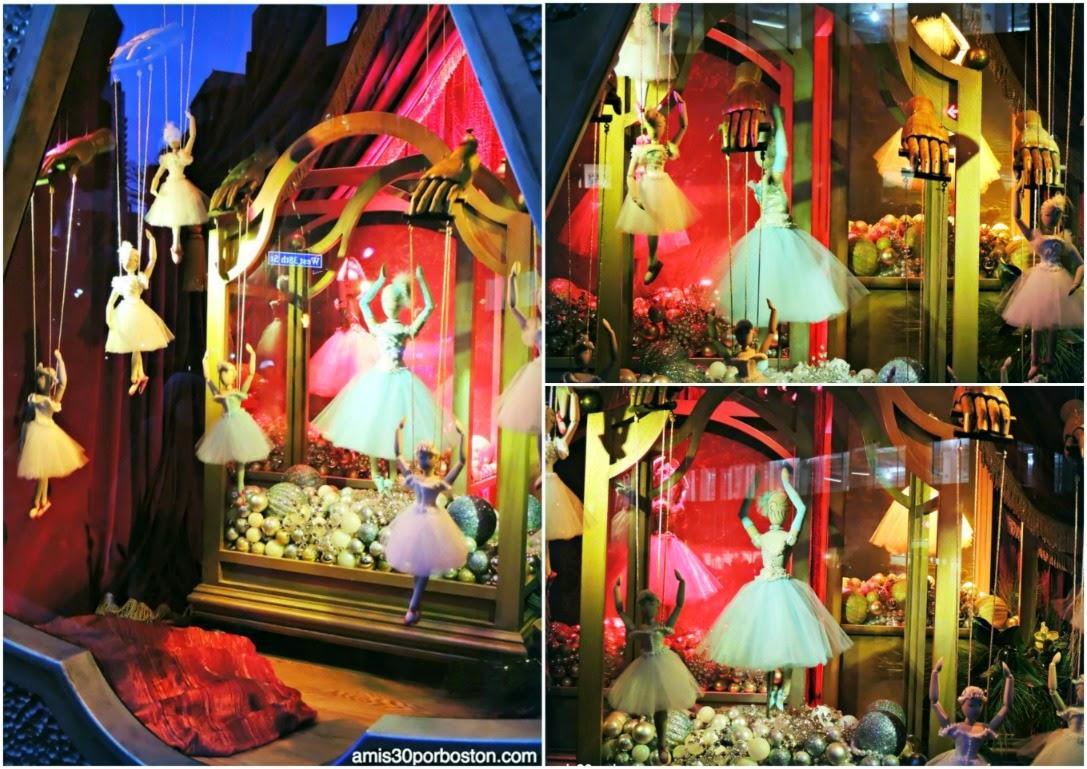 Escaparates de Navidad en Nueva York: Bailarinas en el Macy´s