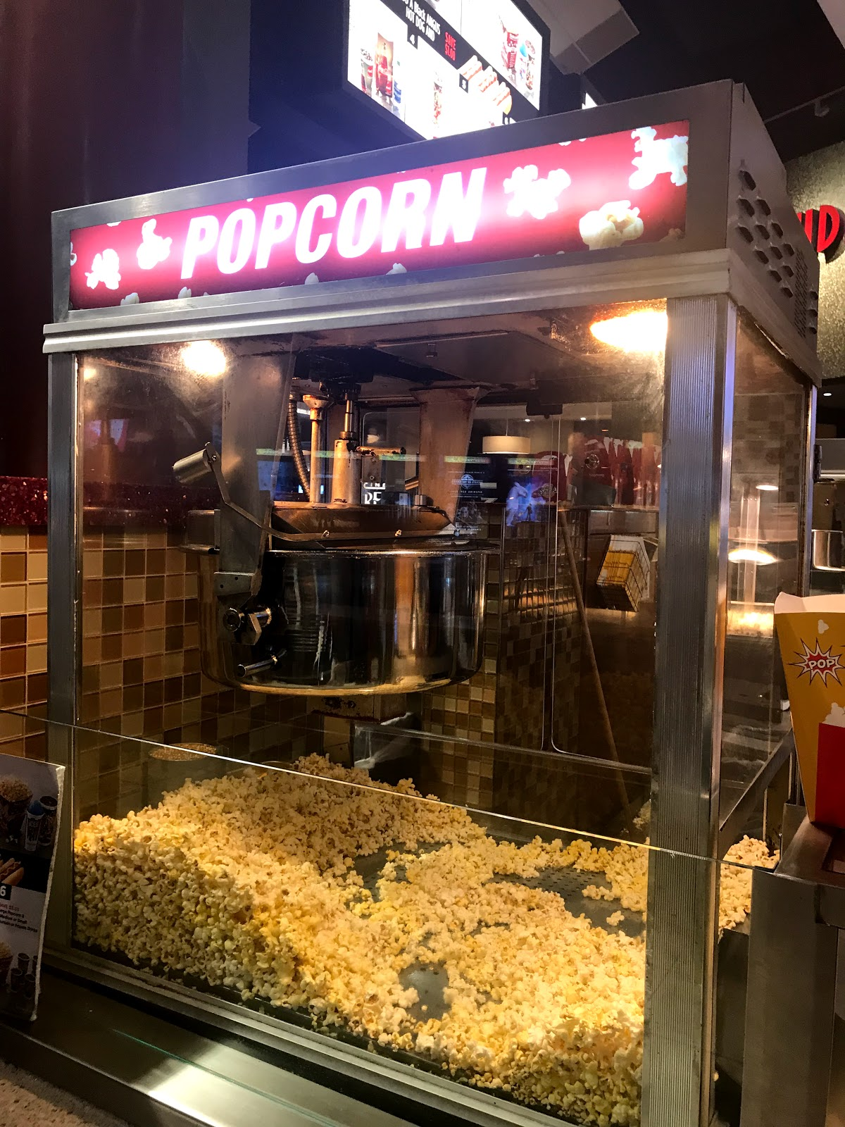Image Popcorn machine at movie theater: Family enjoys watching new goosebumps movies for halloween also adds their own review by tangie bell weekend bits and favorites