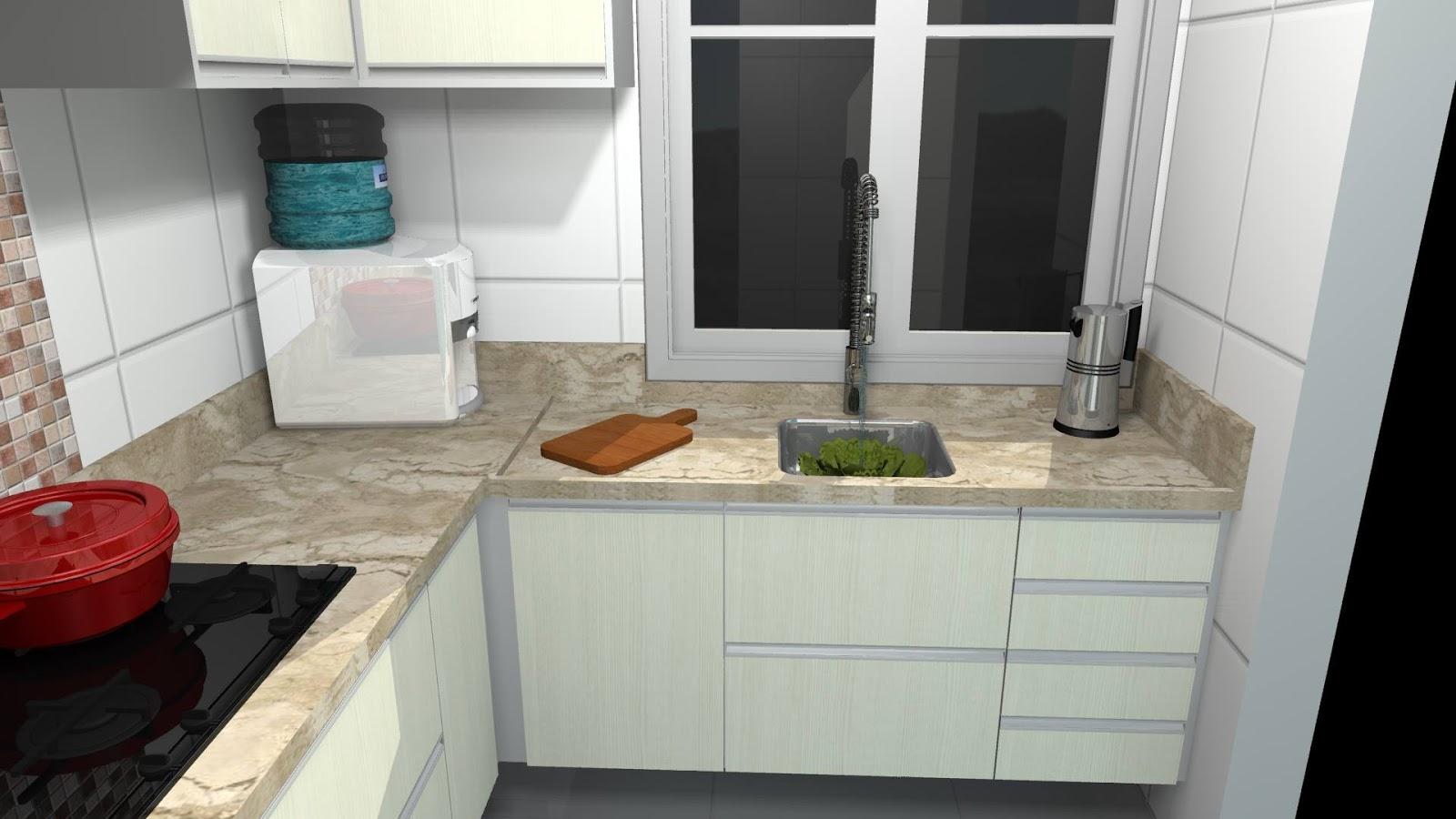 Armb Projeto De M Veis Cozinha Pequena