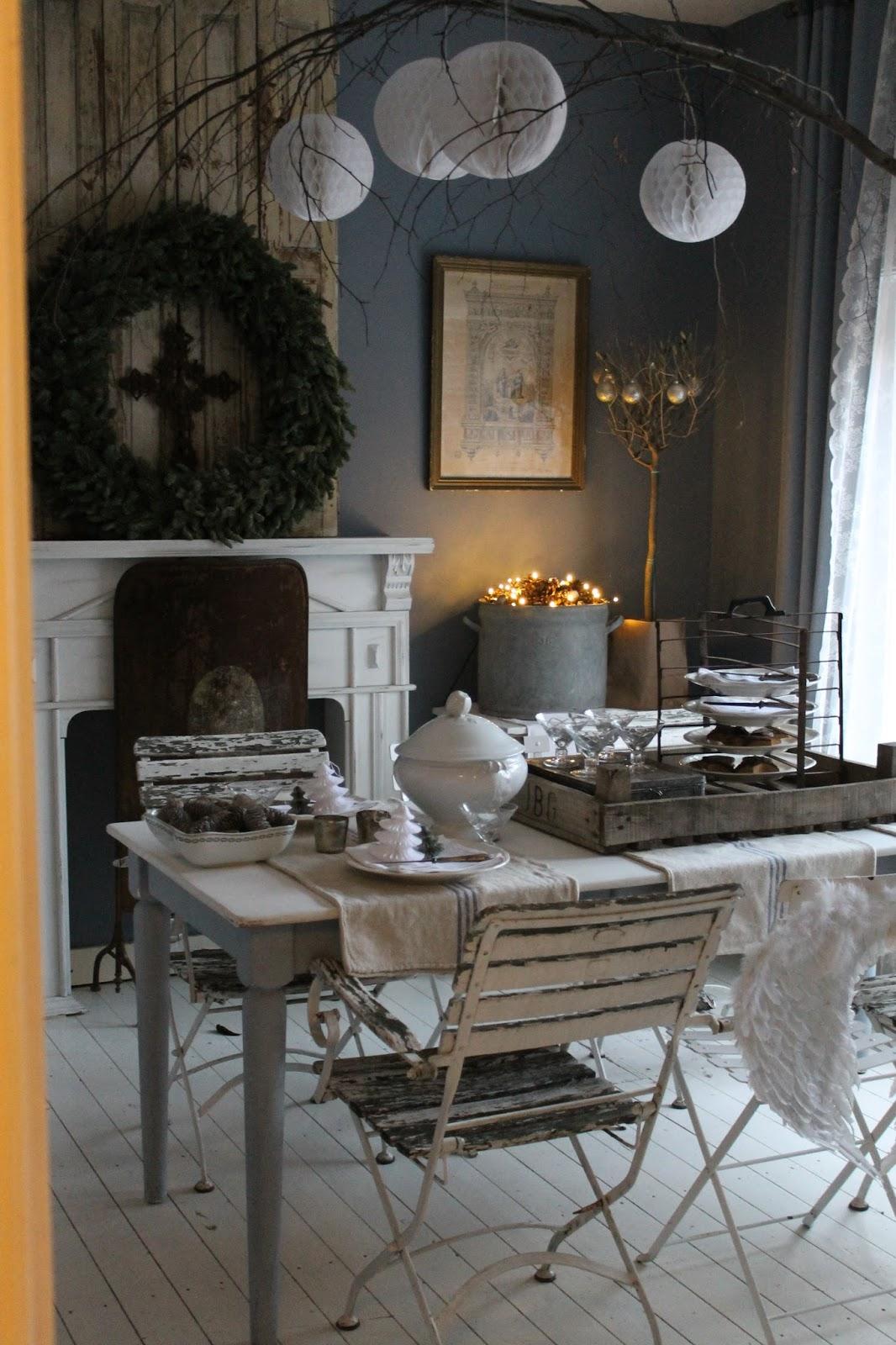Lilablu brocante brocante kasteelfair in baarn en kerstmis in de eetkamer brocante - Foto eetkamer ...