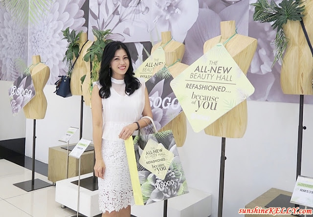 SOGO KL All-New Beauty Hall Refashioned