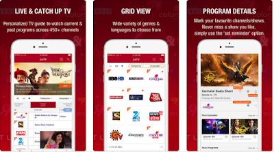 Watch live tv channels on mobile with Jio TV app