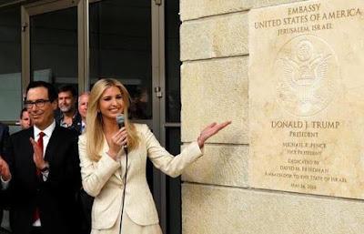 Inauguración de la Embajada de Estados Unidos en Jerusalén