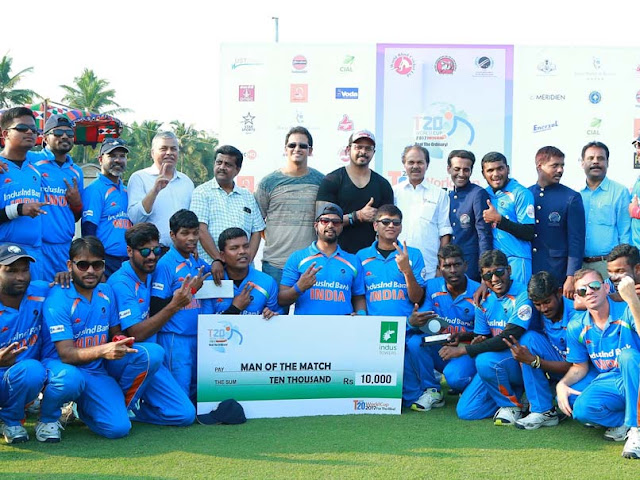 India Beat Pakistan by 9 Wickets to Win T20 World Cup for Blind